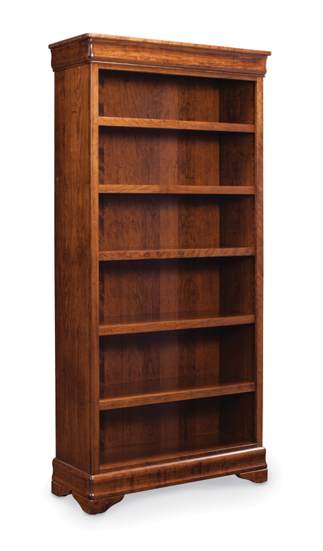 Louis Philippe Open Bookcase