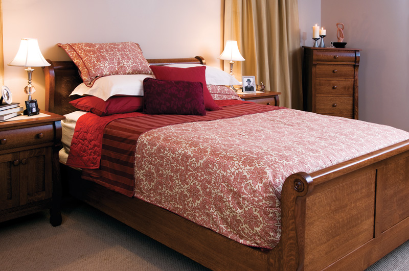 Empire Sleep Collection – Shown in Quarter-Sawn White Oak-Michaels