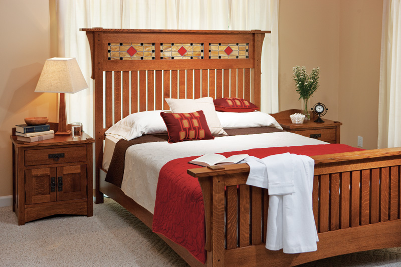 Grant Sleep Collection - Shown in Quarter-Sawn White Oak-Michaels