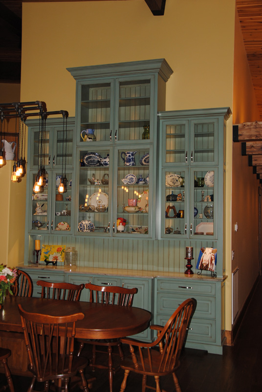 painted Dining Buffet