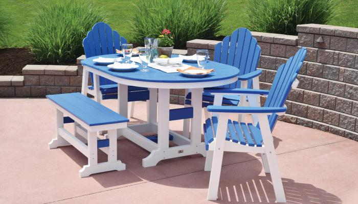 Cozi Back Chairs around table