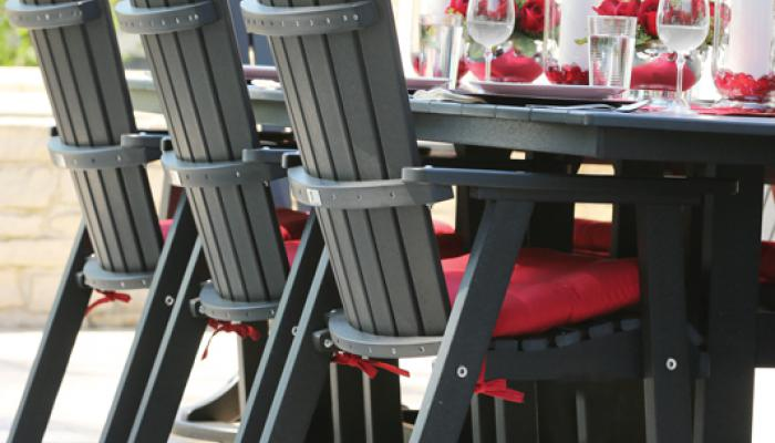 Comfo Back Dining Chairs Lifestyle