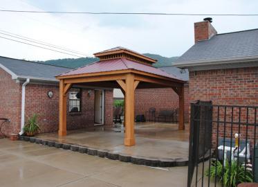 12x16 Durango Pavilion Classic Roof