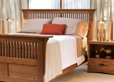 Prairie Mission Sleep Collection – Shown in Oak-Chestnut