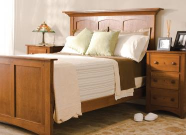 Royal Mission Sleep Collection – Shown in Quarter-Sawn White Oak-Chestnut
