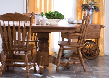Classic Eat Collection – Shown in Oak-Sand