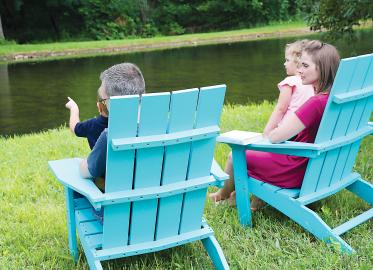 Mayhew Stationary Adirondack - Aruba Blue