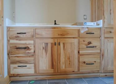 Rustic Hickory Vanity