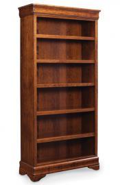 Louis Philippe Open Bookcase