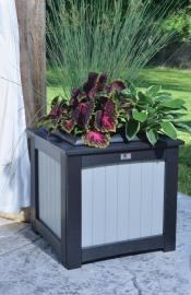22x22 Square Planter Lifestyle