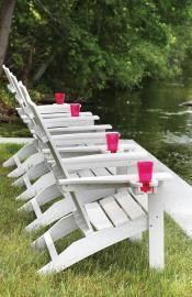 Mayhew Stationary Adirondack - Seashell