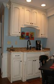 Wet Bar Paint & Glaze