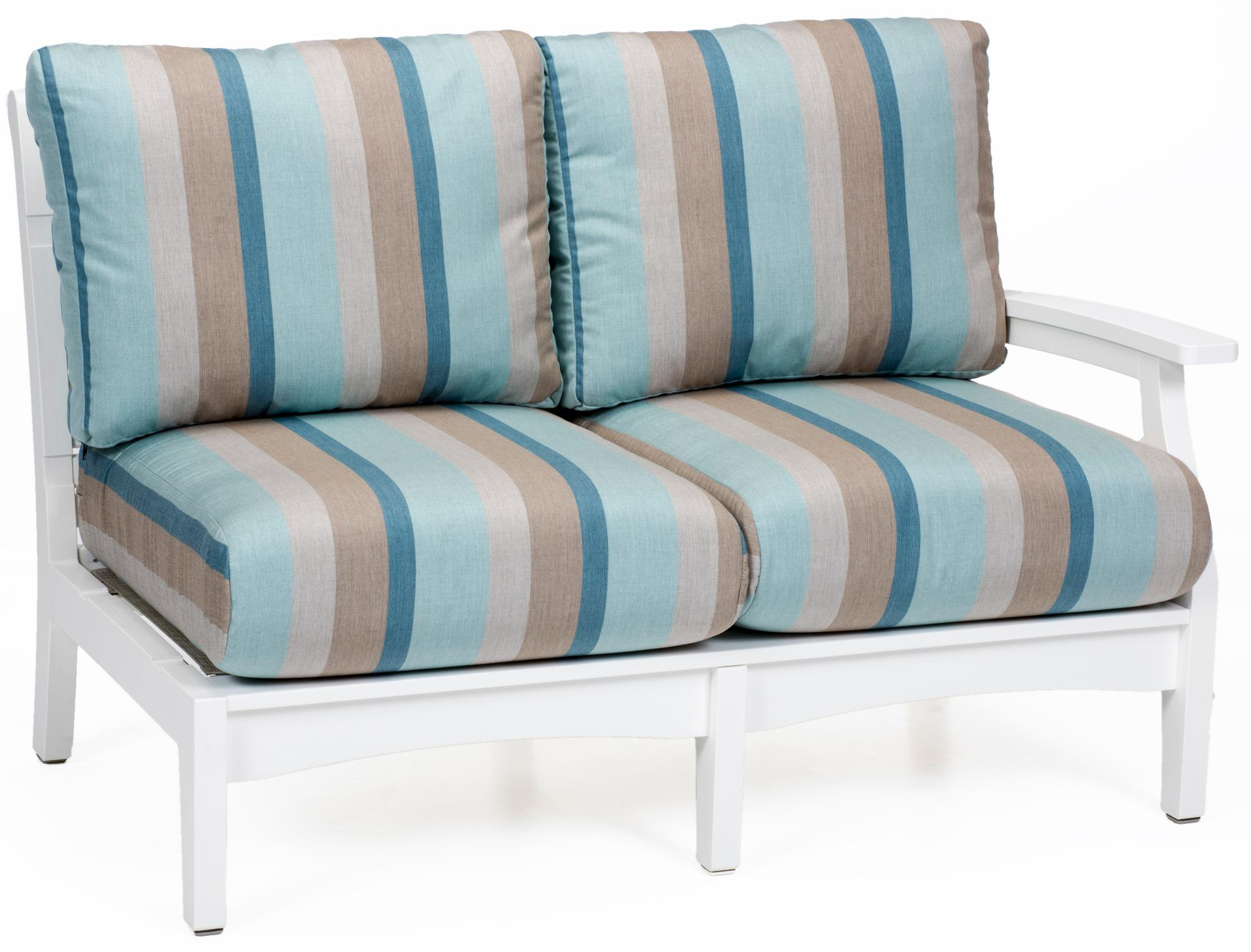 Classic Terrace Left Arm Love Seat