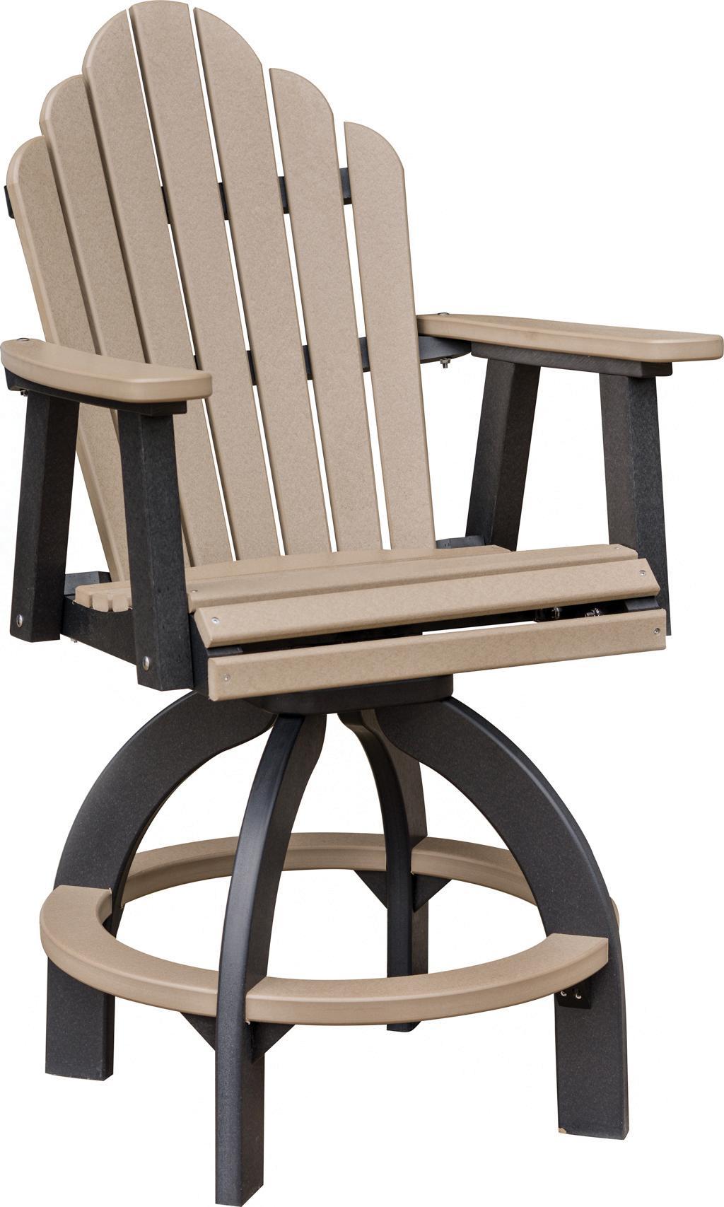 Cozi Back Swivel Bar Chair