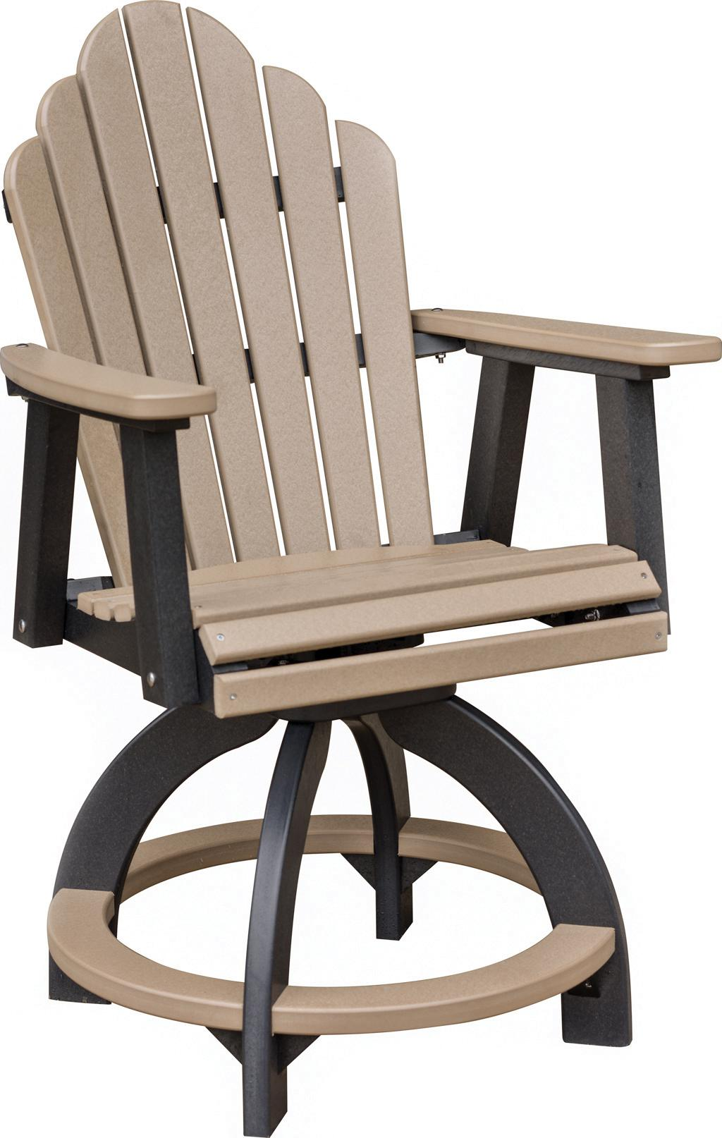 Cozi Back Swivel Counter Chair