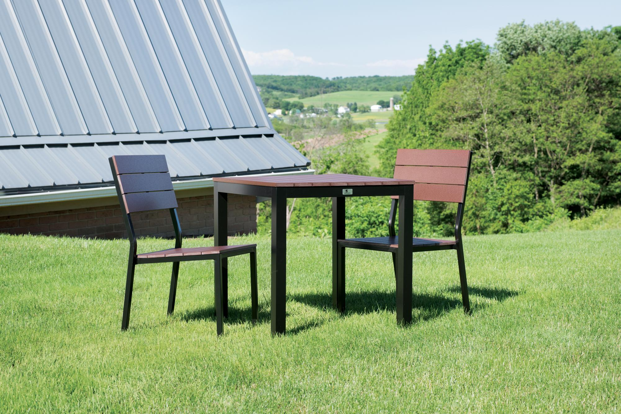 PAX Square Table and Side Chairs