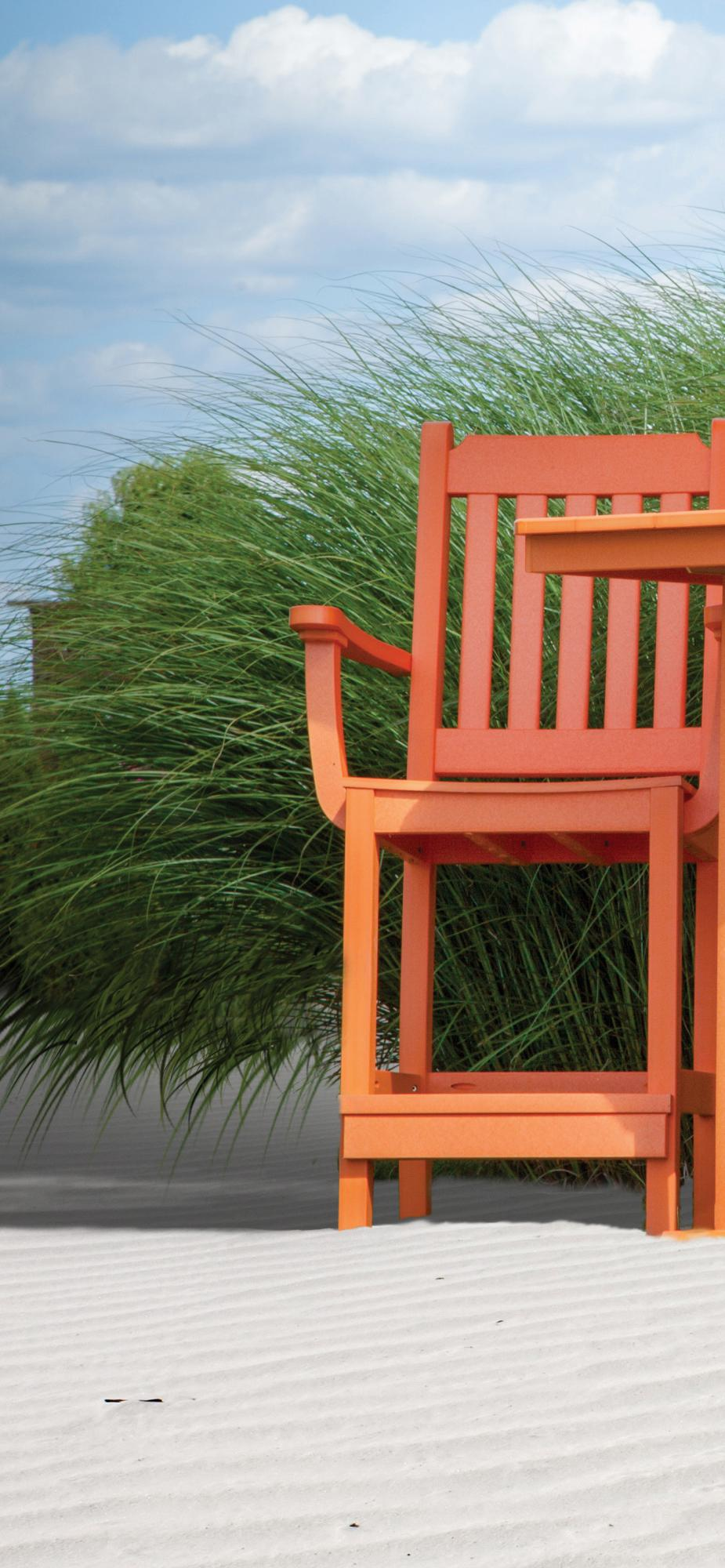 Garden Mission Bar Chair with Arms