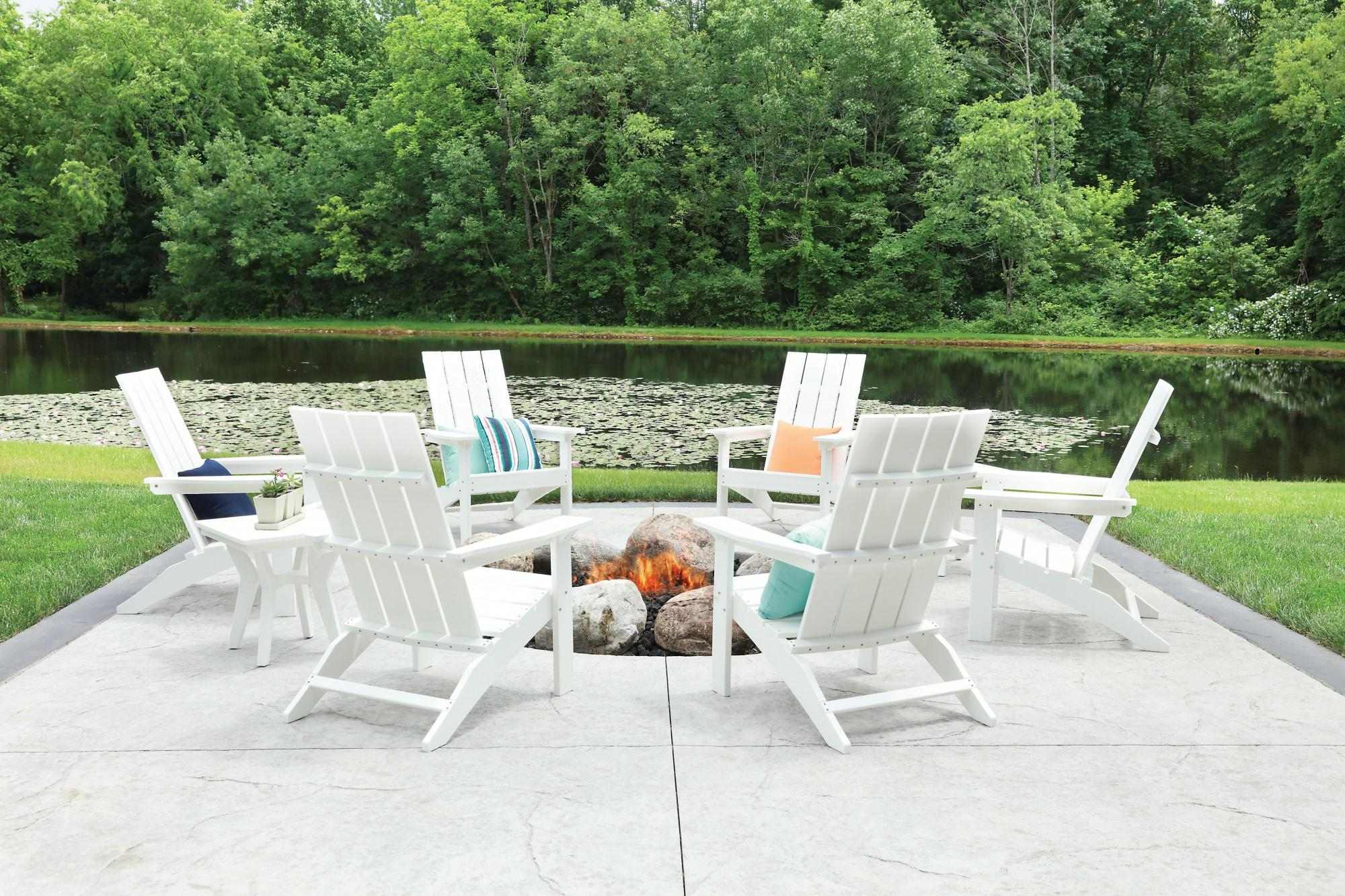 Mayhew Adirondack Set - White