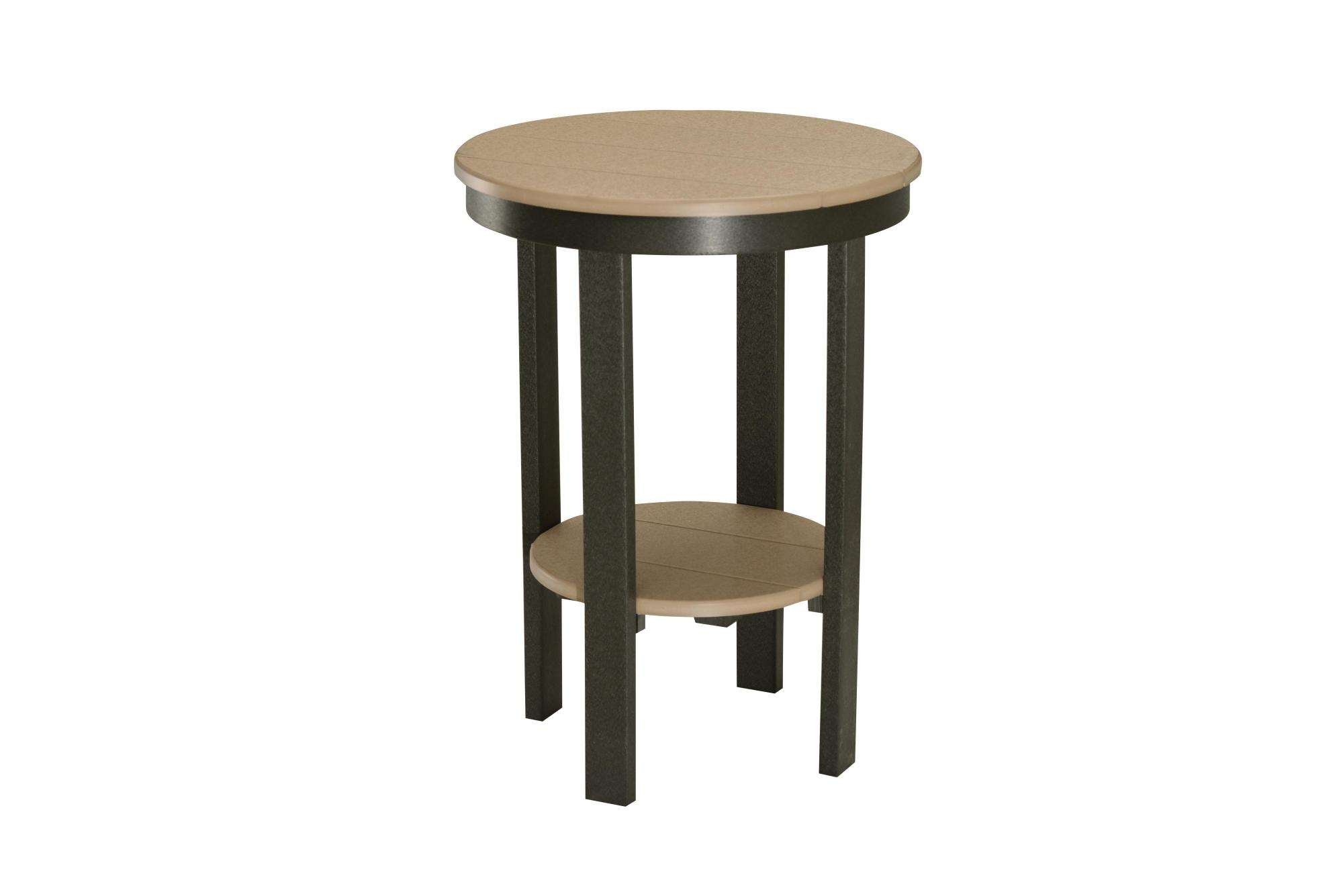 Round End Table (Counter Height)