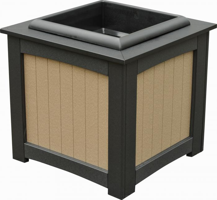 "22"" Square Planter (includes insert)"