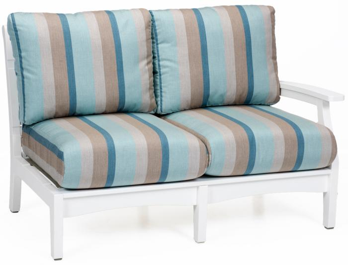 Classic Terrace Left Arm Love Seat