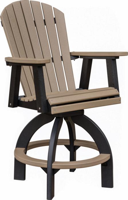 Comfo Back Swivel Bar Chair