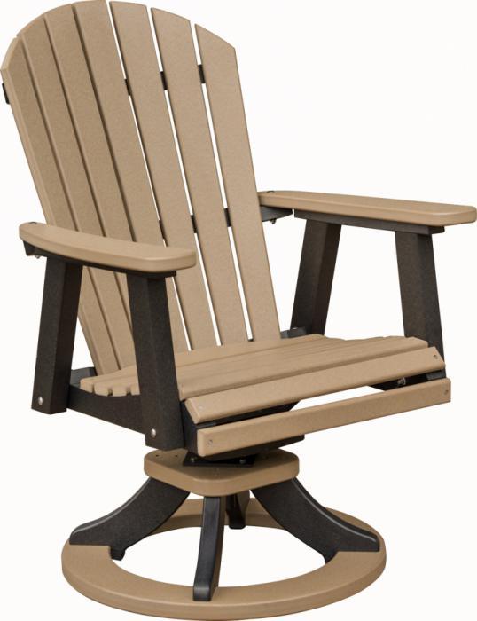 Comfo Back Swivel Rocker Dining Chair