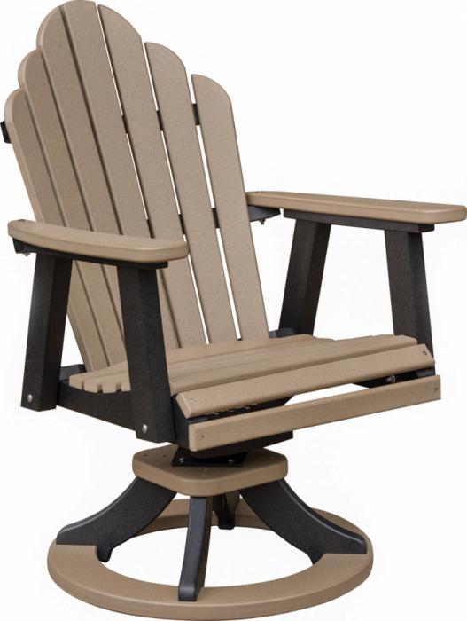 Cozi Back Swivel Rocker Dining Chair